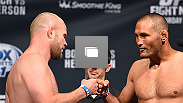 UFC weigh-in at the Smoothie King Center on June 5, 2015 in New Orleans, Louisiana. (Photos by Josh Hedges/Zuffa LLC/Zuffa LLC via Getty Images)
