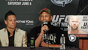 Hear from Dan Henderson, Ben Rothwell, Dustin Poirier, Francisco Rivera, Brian Ortega, and Anthony Birchak in these Fight Night New Orleans post fight press conference highlights.