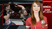 UFC minute host Lisa Foiles details the new fight for Nashville featuring Sara McMann and Amanda Nunes and talks more UFC 188.