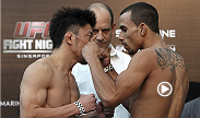 After 41 professional fights, Tatsuya Kawajiri takes advantage of his UFC debut by submitting Sean Soriano in the second round using a rear naked choke. Kawajiri takes on Dennis Siver in the co-main event at UFC Fight Night in Berlin, Germany.