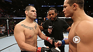 Go back in time to UFC 166 and relive the epic bout between Cain Velasquez and Junior Dos Santos, who threw down in part III of their trilogy. Velasquez makes his long-awaited return to the Octagon at UFC 188 in Mexico City on Pay-Per-View.