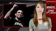 UFC Minute host Lisa Foiles runs down what went down at UFC 188 open workouts and previews the newest episodes of UFC 188 Embedded.
