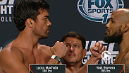 Watch the official weigh-in for UFC Fight Night: Machida vs. Romero live Friday, June 26 at 10pm BST.