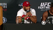 Watch the post-fight press conference for UFC Fight Night: Machida vs. Romero.
