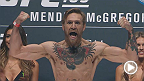 Watch the official weigh-in for UFC 189: Mendes vs. McGregor live Friday, July 10 at 7pm/4pm ETPT.