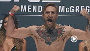 Watch the official weigh-in for UFC 189: Mendes vs. McGregor live Friday, July 10 at Midnight BST