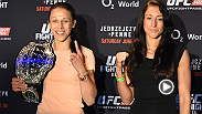 Check out the Berlin media day highlights with the main and co-main event fighters talking about themselves and their opponents. Plus, see Joanna and Jessica spice things up.