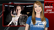 UFC Minute host Lisa Foiles recaps what went down in the main event of Fight Night Berlin, where Joanna Jedrzejczyk defended her strawweight title for the first time in a win against Jessica Penne.