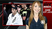 UFC Minute host Lisa Foiles details this weekend's Fight Night event from Hollywood, Florida.