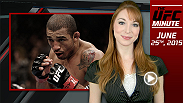 UFC Minute host Lisa Foiles runs down the big news pertaining to the UFC 189 main event between Jose Aldo and Conor McGregor.