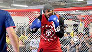 Before their big night inside the Octagon, UFC middleweight stars Lyoto Machida and Yoel Romero show off their skills at open workouts in Hollywood, Florida. Check out the highlights.