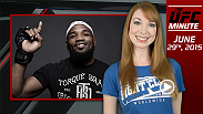 UFC Minute host Lisa Foiles talks about Yoel Romero's win at Fight Night Florida and looks ahead to the UFC Fan Expo as part of UFC International Fight Week.