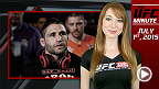 UFC Minute host Lisa Foiles gives you all the details pertaining to the UFC 189 main event change and looks back at the launch of the new UFC Fight Kit.