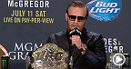 Watch the UFC 189 post-fight press conference live following the event.