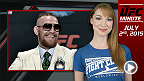 UFC Minute host Lisa Foiles talks about what went down between Conor McGregor and Chad Mendes on the UFC 189 Media Conference Call on Wednesday.