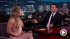 Ronda Rousey on Jimmy Kimmel Live: Ronda Wins Fights in Under 20 Seconds