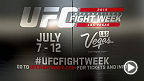Join the UFC at International Fight Week 2015 in Las Vegas, Nevada. Enjoy activities all week long including a free concert, pool parties with Octagon girls, Ulti-Man 5k, UFC Fan Expo and more! Check out UFCFightWeek.com for more information.
