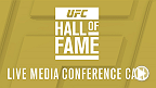 UFC will host a media conference call with the 2015 UFC Hall of Fame inductees on Monday, July 6 at 4pm/1pmET PT.