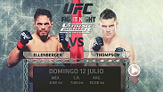La final de la temporada 21 de The Ultimate Fighter cerrará nuestra International Fight Week el Domingo 12 de Julio en vivo por UFC NETWORK.