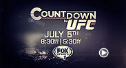 Go into the fight camps of the 4 UFC 189 stars - Conor McGregor, Chad Mendes, Robbie Lawler and Rory MacDonald - as they go into battle for the right to call themselves champion. Countdown premieres on FOX Sports 1 on Sunday at 8:30pm/5:30pm ETPT.