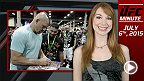 UFC Minute host Lisa Foiles briefly talks UFC 189 and International Fight Week - specifically the charity auctions that are going down right now at http://ufcfightweek.auction-bid.org/micro2.php.