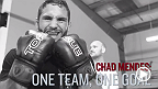 "Team Alpha Male fighter and top featherweight contender Chad ""Money"" Mendes displays his hardwork in the gym with his teammates who push him to improve his game. Mendes battles Conor McGregor for the interim featherweight title at UFC 189 in Las Vegas."
