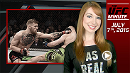 UFC Minute host Lisa Foiles runs down some new UFC 189 content as well as kicks off International Fight Week.