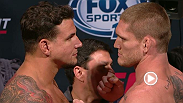 Watch the official weigh-in for UFC Fight Night: Mir vs. Duffee live Wednesday, July 15 at 12am BST.