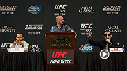 Check out the best sound bites from the official UFC 189 pre-fight press conference that took place on Thursday afternoon. Chad Mendes, Conor McGregor, Robbie Lawler, Rory MacDonald and more talk about their upcoming fight.
