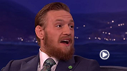 A lot of people get tattoos with stories behind them; Conor just got a tattoo because he thought it looked bad-ass. Check out another clip from his recent appearance on CONAN.