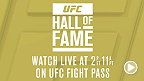 UFC Hall of Fame 2015 – Grande ouverture