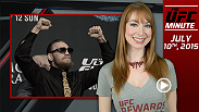 UFC Minute host Lisa Foiles talks about the UFC 189 pre-fight press conference and then looks ahead to tomorrow's record-breaking weigh-ins and the start of UFC Fan Expo as International Fight Week rolls on.