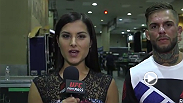 Cody Garbrandt spoke backstage with Megan Olivi about his performance at UFC 189, with a unanimous decision win against Henry Briones.