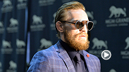 Watch as UFC featherweight Conor McGregor makes his arrival to the MGM Grand in Las Vegas for his interim title fight against Chad Mendes in the main event of UFC 189.