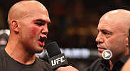 "After his dominant five-round title defense, ""Ruthless"" Robbie Lawler talks to Joe Rogan inside the Octagon about his performance."