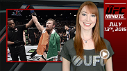 UFC Minute host Lisa Foiles runs down all the big action that went down at UFC 189 at the MGM Grand Garden Arena in Las Vegas.