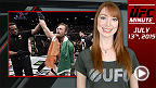 UFC Minute: 7월 13일 월요일