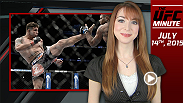 UFC Minute host Lisa Foiles covers Monday's Media Day for Fight Night San Diego which featured main event heavyweights Frank Mir and Todd Duffee. She then looks ahead to today's weigh-ins.