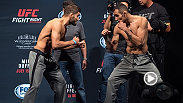 Main and co-main stars of UFC Fight Night: Mir vs. Duffee weigh-in and staredown in San Diego, California. Check out the highlights.