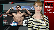 UFC Minute host Lisa Foiles looks back at the Fight Night San Diego weigh-ins and then looks ahead to today's event.