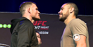 Hear from UFC stars Michael Bisping, Thales Leites, Ross Pearson and Evan Dunham ahead of their bouts this Saturday on FOX Sports 1 in Glasgow. Also check out each fighter's workout highlights.