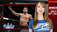 UFC Minute host Lisa Foiles runs down what went down at Fight Night San Diego.