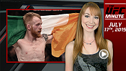 UFC Minute host Lisa Foiles looks ahead to the Fight Night Glasgow and the Irish representation ready to compete on Saturday.