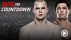"UFC Countdown takes you inside the training camps and lives of six stars as they prepare for historic battles at UFC 190. Former heavyweight champion Minotauro Nogueira seeks a hometown win against Stefan ""Skyscraper"" Struve."