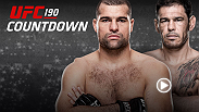 "UFC Countdown takes you inside the training camps and lives of six stars as they prepare for historic battles at UFC 190. Brazilian legends Mauricio ""Shogun"" Rua and Antonio Rogerio Nogueira brace for a rematch of their 2005 PRIDE classic."