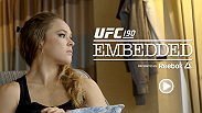 Follow UFC Women's Bantamweight Champion Ronda Rousey through the sights and sounds of Rio de Janeiro, Brazil leading up to her bout against Bethe Correia. Watch both fighters train, and discuss their quest for the title at UFC 190.