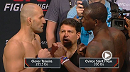 Watch the official weigh-in for UFC Fight Night: Teixeira vs. Saint Preux live Friday, August 7 at 10pm BST.
