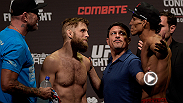 Watch again as Nik Lentz and Charles Oliveira step into The Octagon at the UFC Fight Night event on May 30, 2015. Charles Oliveira takes on Max Holloway in the main event at Fight Night Saskatoon on FOX Sports 1.