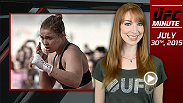UFC Minute host Lisa Foiles looks back at the UFC 190 Open Workouts and the comments from UFC women's bantamweight champion Ronda Rousey and No. 1 contender Bethe Correia.