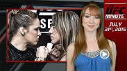 UFC Minute host Lisa Foiles details some fight card updates to UFC 191 and looks ahead to final encounter between Ronda Rousey and Bethe Correia at Friday's weigh-ins.